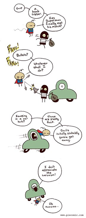 Things Are Getting Old for Superman