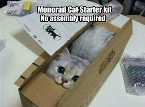 Be Careful When Removing From the Box, Claws Are Pre-Attached