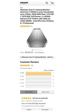 Amazon Reviews Help With the Tough Decisions