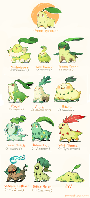 What If Cross Breeding Made Pokémon Look Different?