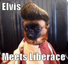 Elvis  Meets Liberace