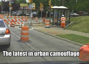 The latest in urban camouflage