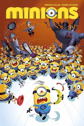Despicable Me's Minions are Getting Their Own Comic