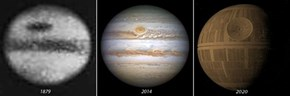 Our Vision of Jupiter Has Sure Changed Through the Years