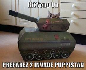 Kit Yong Un  PREPAREZ 2 INVADE PUPPISTAN