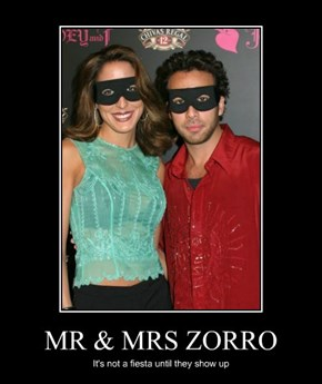 MR & MRS ZORRO