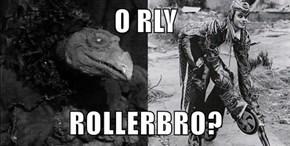 O RLY  ROLLERBRO?