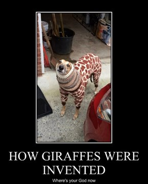 HOW GIRAFFES WERE INVENTED