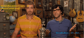 When Rhett and Link get high