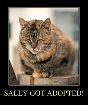 SALLY GOT ADOPTED!