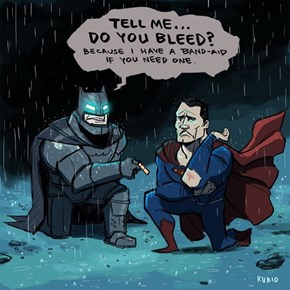 Batman v Superman: Dawn of Friendship