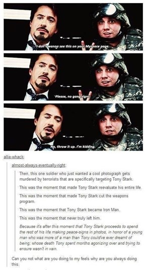 Iron Man Does Not Have an Iron Heart