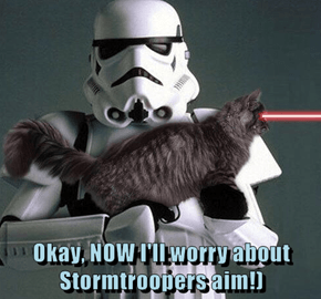 Okay, NOW I'll worry about Stormtroopers aim!)