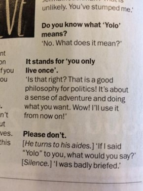 Heartwarmingly Clueless Ed Miliband