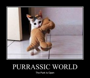 PURRASSIC WORLD
