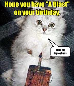 Happy Birthday violetD