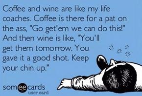 Wine, wine, wine spo-de-o-dee