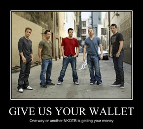 GIVE US YOUR WALLET