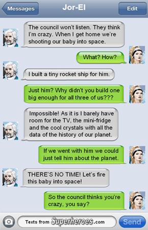 Jor-El is a Pragmatist