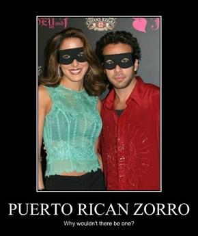 PUERTO RICAN ZORRO