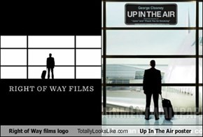 Right of Way films logo Totally Looks Like Up In The Air poster