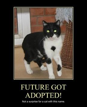FUTURE GOT ADOPTED!