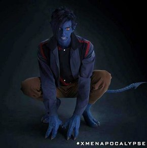 Get A First Look at Nightcrawler from X-Men: Apocalypse