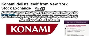 Dan 5:5 Suddenly, they saw the fingers of a human hand writing on the plaster wall of the kings palace, near the lampstand. The king himself saw the hand as it wrote,