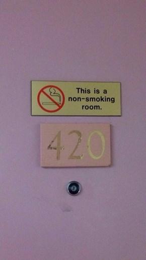Blaze That Sign Down!