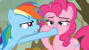 Rainbow What Are You Doing, Rainbow! Stahp!