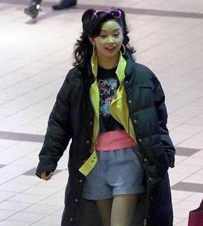 Jubilee Is Rocking A Classic Look in Her X-Men: Apocalypse Set Photo