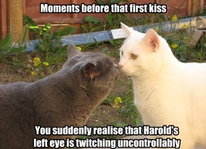 Moments before that first kiss