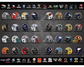 Marvel Meets the NFL In This Series of Helmets