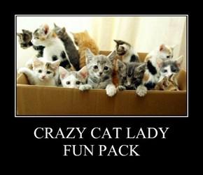 CRAZY CAT LADY FUN PACK