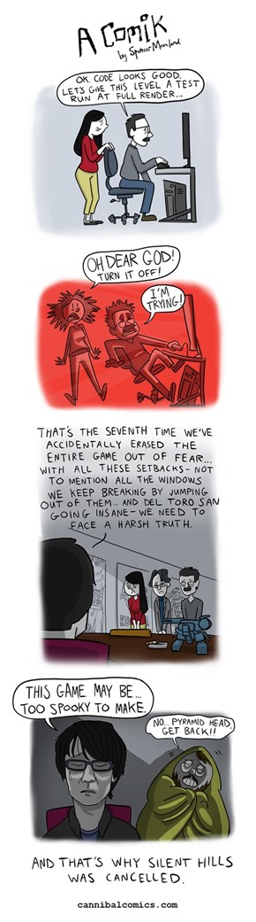 The Comic That Explains Why Silent Hills Was Cancelled