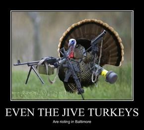 EVEN THE JIVE TURKEYS