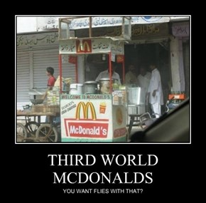 THIRD WORLD MCDONALDS