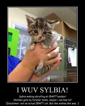 I WUV SYLBIA!