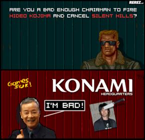 Hideo Kojima Has Been Kidnapped by Ninjas!