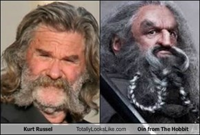 Kurt Russel Totally Looks Like Oin from The Hobbit