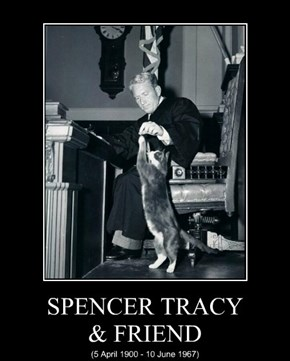 SPENCER TRACY & FRIEND