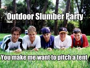 Outdoor Slumber Party