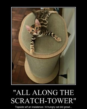 """""""ALL ALONG THE SCRATCH-TOWER"""""""