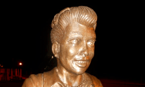 This Statue of Lucille Ball is so Terrifying, the Artist is Offering to do it Over