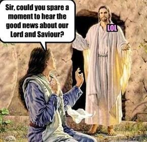 Saviour. LOL...