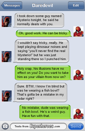 Daredevil is Immune To Your Trickery