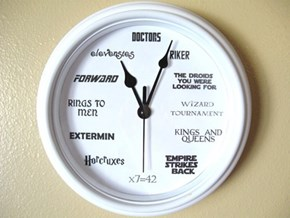You Have to be a Bit Nerdy to Tell the Time on This Clock