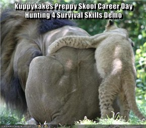 Kuppykakes Preppy Skool Career Day Hunting 4 Survival Skills Demo