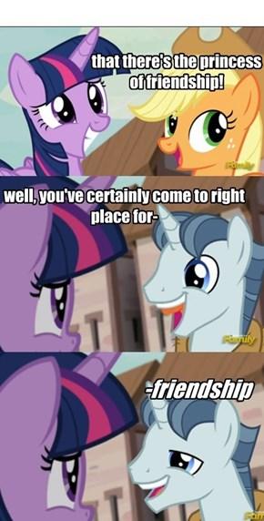 ...Friendship?