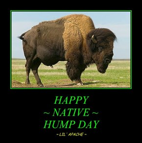 HAPPY ~ NATIVE ~ HUMP DAY